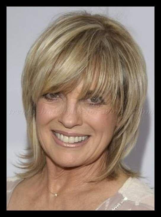 Shoulder Length Hairstyles Over 50 Linda Grey Layered