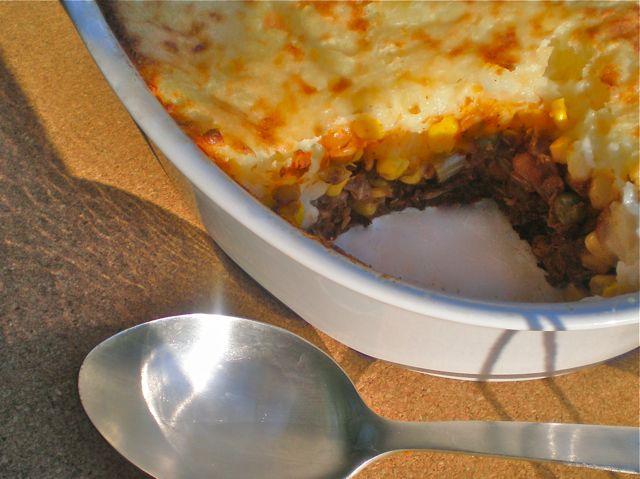 Vegan shepherd's pie. Adapted for Daniel fast...perfect!