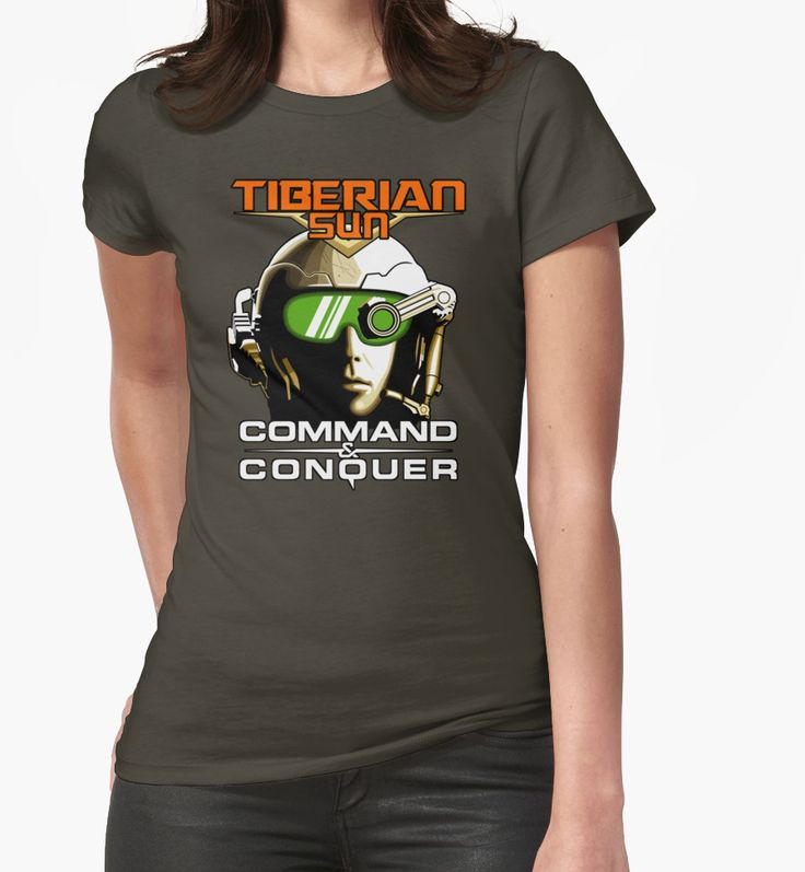 """Tiberian Sun Commander"" Womens Fitted T-Shirts by Remus Brailoiu 