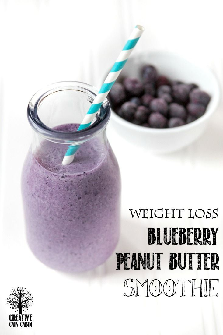 20/20 Diet | Dr. Phil |Blueberry Peanut Butter Smoothie ...