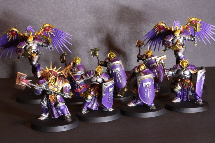 Warhammer: Age of Sigmar, Stormcast Eternals: purple and