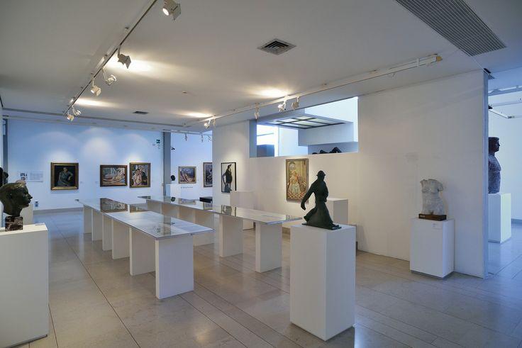 Museo Revoltella, Trieste. La galleria del quinto piano. Foto Mattia Visintini.