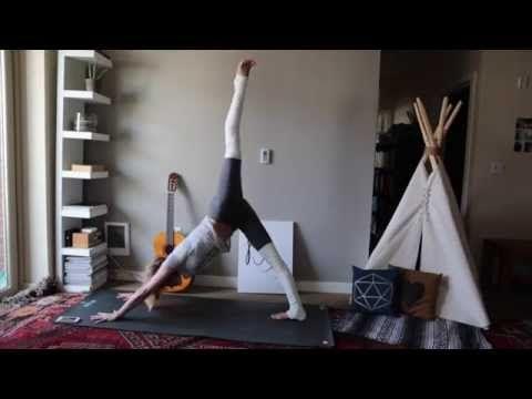 10 Min Fat Burning Yoga- Tara Stiles Slim Calm Sexy Yoga - YouTube