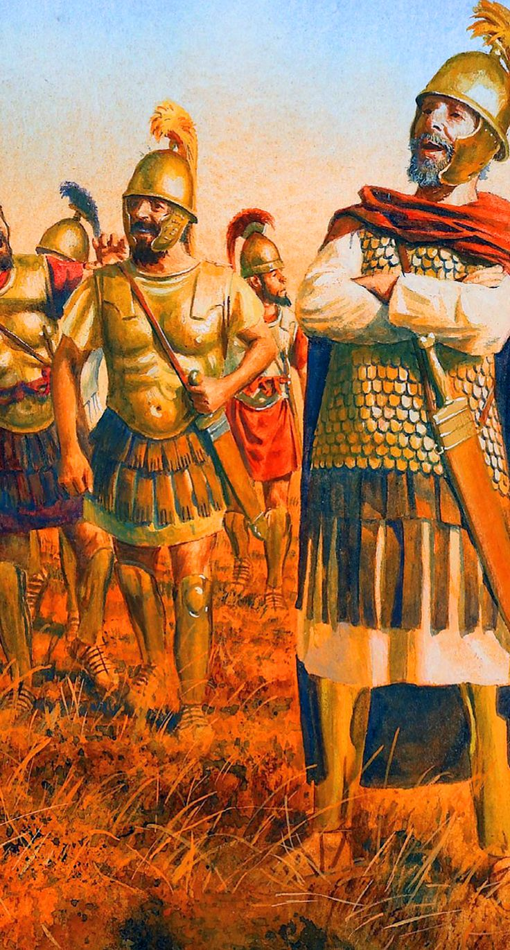 Carthaginian officers during the Punic War