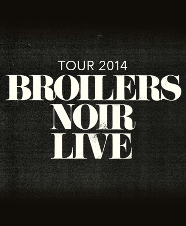 Broilers - NOIR Live 2014 - Tickets unter: www.semmel.de
