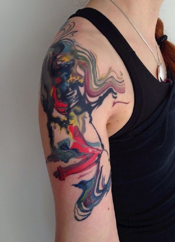 42 Mind Blowing Koi Tattoo Designs Examples: 60 Mind Blow Abstract Tattoos