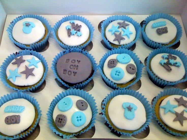 Baby shower cupcakes - Fondant Fantastic