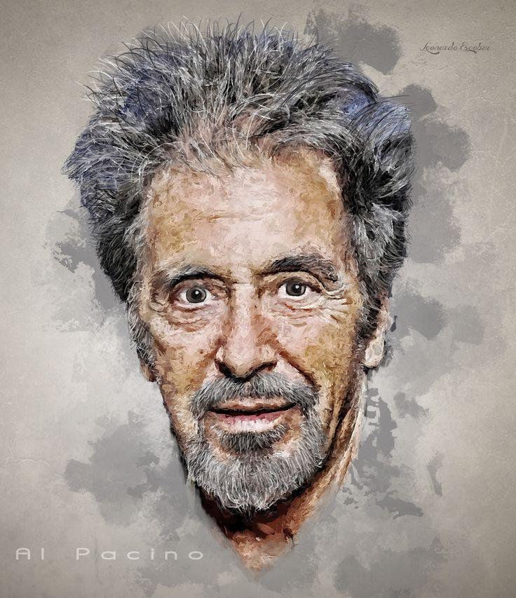 Al Pacino Digial Brush.