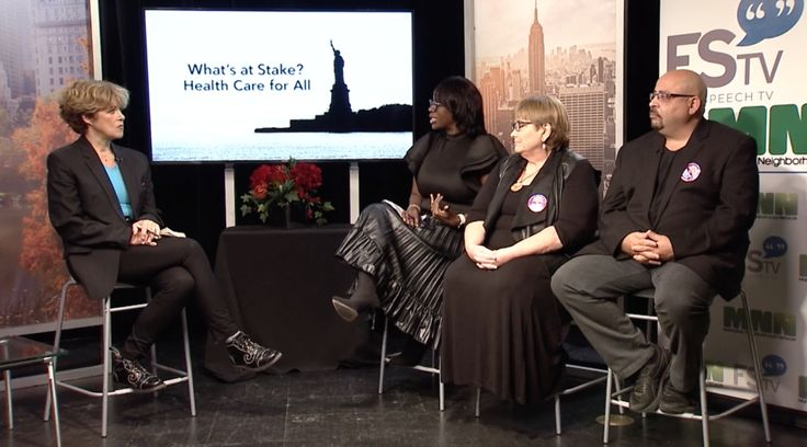 Manhattan Neighborhood Network and Free Speech TV to Broadcast Health Care for All Town Hall Discussion