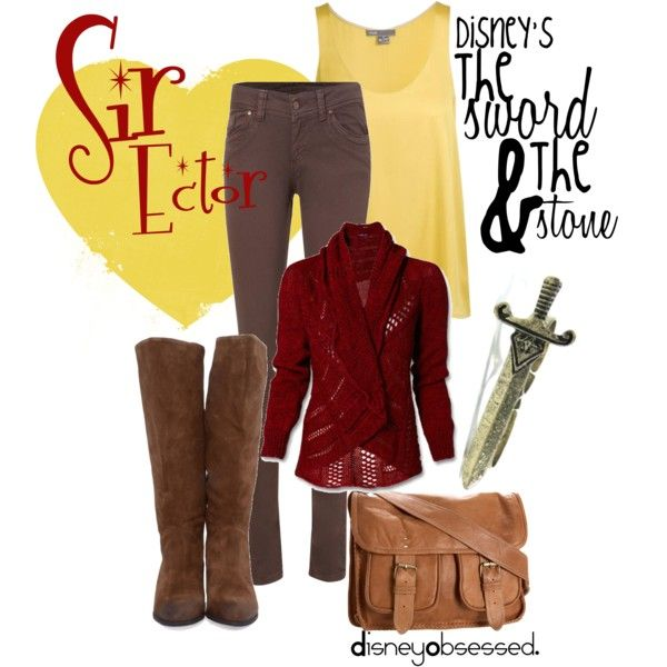 The Sword & The Stone: Sir Ector, created by disneyobsessed on Polyvore