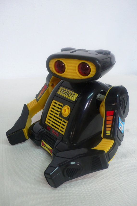 Vintage electronic robot toy by DACAIS on Etsy, $50.00