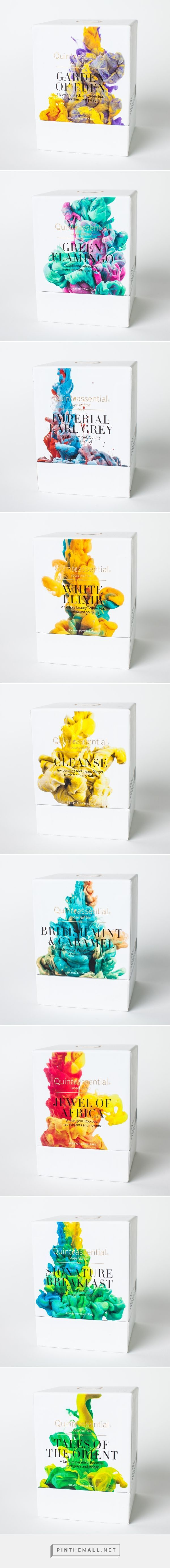 Quinteassential Tea Packaging
