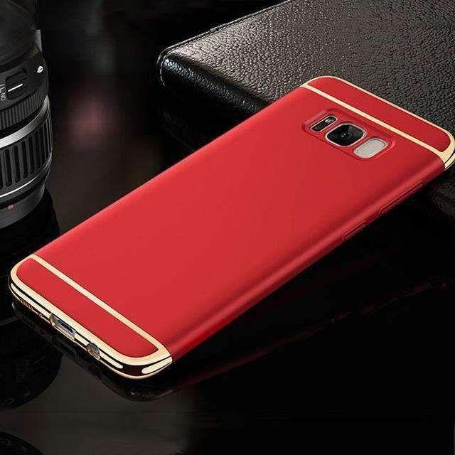 New Luxury Batman Phone Case For Samsung Galaxy S8 / S8 Plus Coque PC Hard Back Cover Case For Samsung Galaxy S7/ S7 Edge Fundas