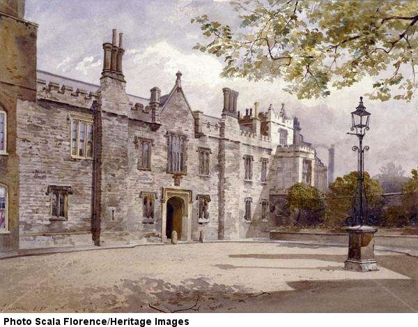 crowther masters lodge charterhouse london 1885 guildhall library art gallery