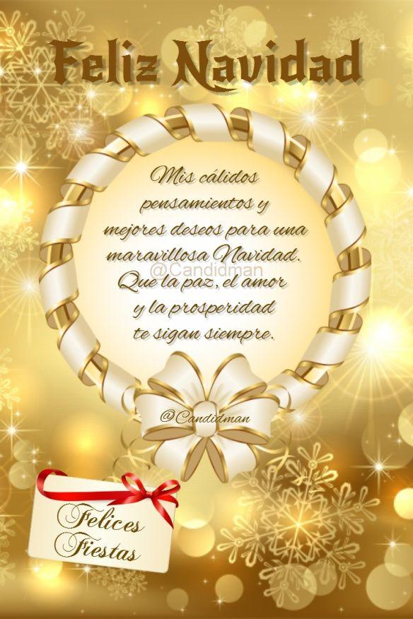 Feliznavidad Mis Cálidos Pensamientos Y Mejores Deseos Para