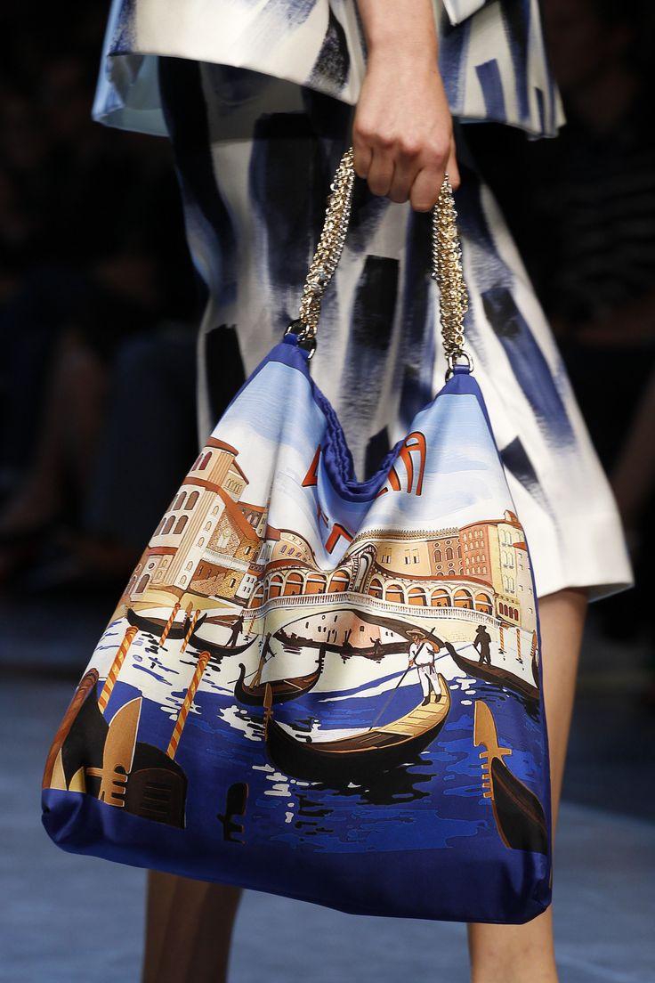 Dolce & Gabbana Spring RTW 2016 Venizia Bag - Summer Holiday - Viva Italia