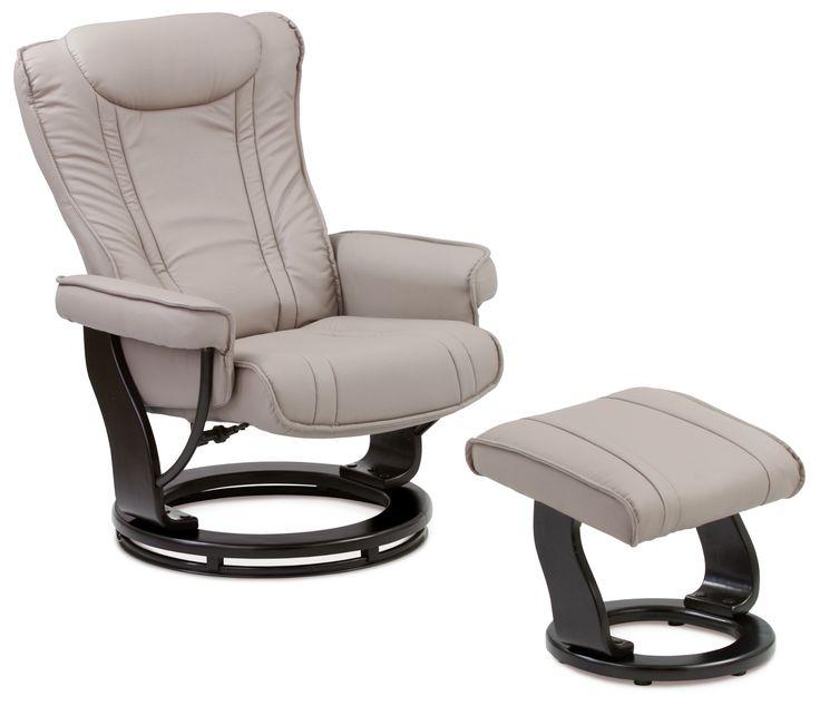 Relaxační křeslo s taburetem SATURN 1 - Sconto Nábytek