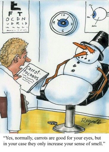 The patient always knows best... #toofunny #snowman Follow us on FaceBook! www.facebook.com/eyecarefortcollins