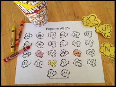 u is for unicycle - circus theme - Sommer Pride: Popcorn Pinspiration and Freebie!