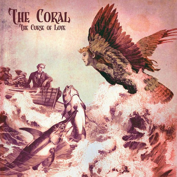 The Coral: The curse of love - portada  Para escuchar en Spotify: https://play.spotify.com/album/5ddxppJwRgkv7wHCdIHsqV
