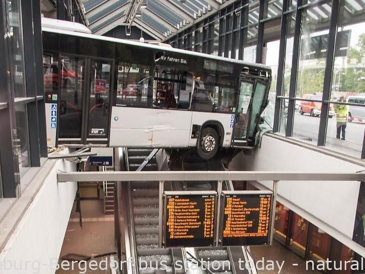 Failures Hamburg Bergedorf Bus Station Right Now Youthful In 2020 Bus Station Bus Picture Fails
