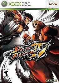 *STREET FIGHTER IV 4* Microsoft XBOX 360 game COMPLETE