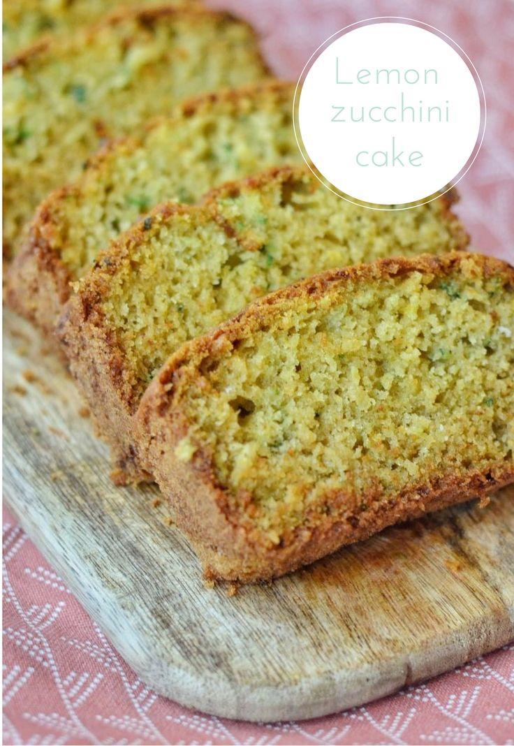 Het recept voor deze citroencake met courgette vindt je op The Early Morning Blog.