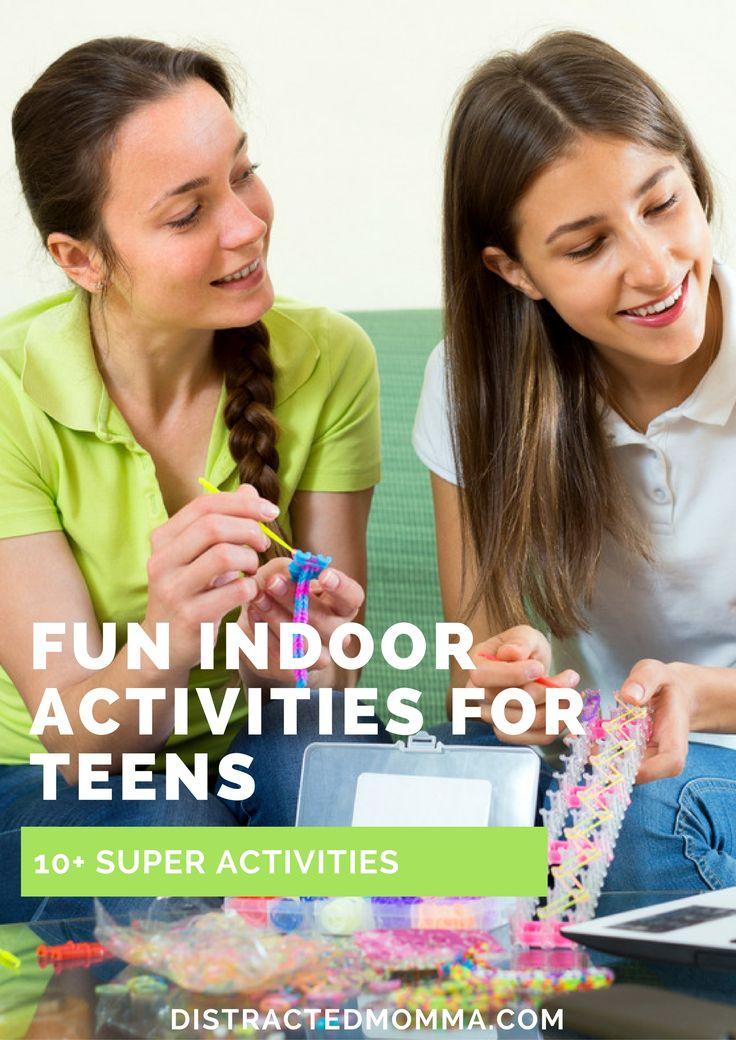 Discover the best fun indoor activities for teenagers.