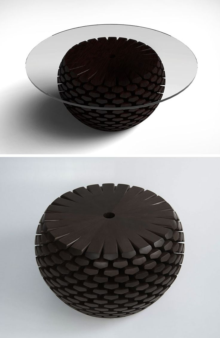 Pin modern dekoratif 252 r 252 nler on pinterest - Inspired By Conifer Cones Or Pine Cones From An Alpine Forest These Sculptural