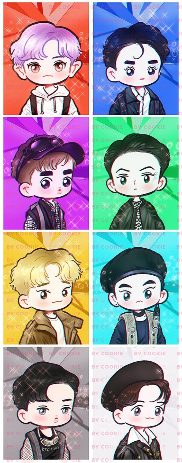 #EXO #POWER #RedForce #Power_Orbs #FanartEXO