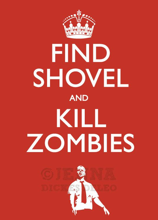 For a couple of years I kept a shovel in my trunk.  I told people that it was in case of zombies.  True story.