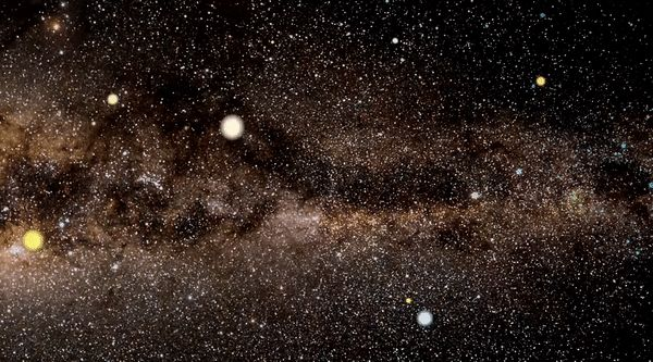 """Giant 'Rogue' Worlds Are Less Common Than Scientists Thought The gravity of a free-floating """"rogue"""" planet may deflect and focus light from a distant star when passing closely in front of it. Owing to the distorted image, the star temporarily seems much brighter. Credit: J. Skowron/Warsaw University Observatory The researchers determined that the Milky Way likely hosts a maximum of one Jupiter-like rogue for every four main-sequence stars — still a lot, but ..."""