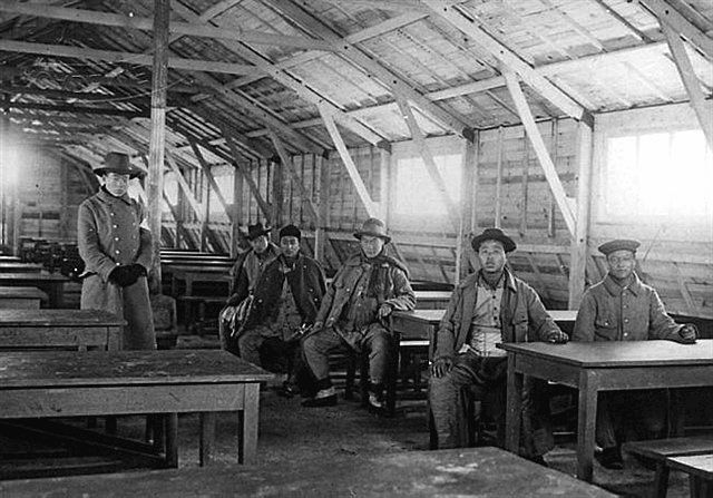 Chinois à la SMN de Caen en 1917