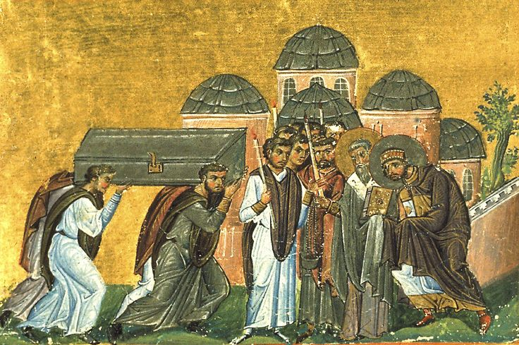 Jan 27/Feb 9 The Glorious Return Of The Holy Relics Of St John Chrysostom  To The Church Of The Holy Apostles In Constantinople