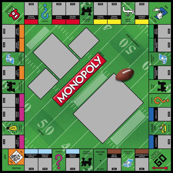 18 best images about monopoly game templates on pinterest for Custom monopoly board template