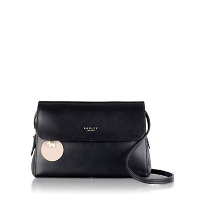 Radley Medium black leather 'Millbank' grab bag | Debenhams