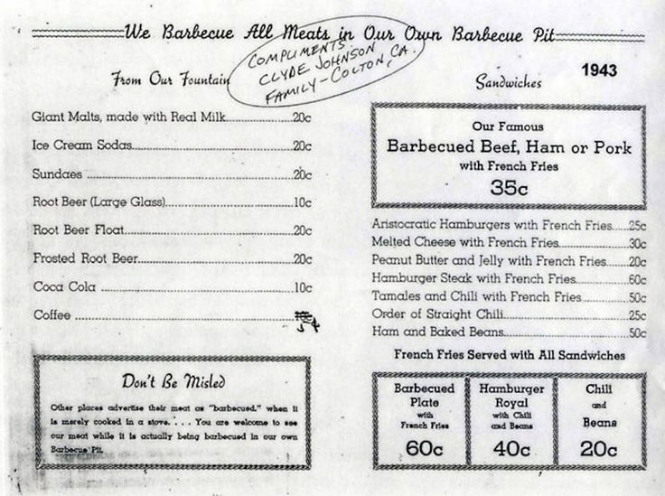 Here's What the Original McDonald's Menu Looked Like, And It Was Extremely Simple!