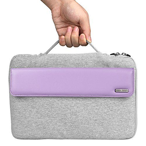 awesome Surface Pro 4 Case, ESR Brilliant Series Sleeve Cushion Case Carrying Case Handbag for 12 inch Surface Pro 4 / Surface Pro 3 Tablet (Fragrant Lavender)
