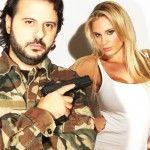 Francesca Brambilla: L'aliena di Avanti un Altro soldatessa nel video degli Stil Novo