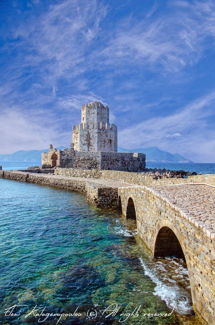 Methoni castle, Messinia, Greece