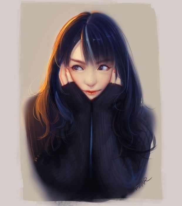 Tá naqueles dias sem inspiração? Separamos uma série bacanuda de ilustrações do chinês Xiao Ji. Com traço suave, Xiao se destaca por ilustrar retrato de garotas.