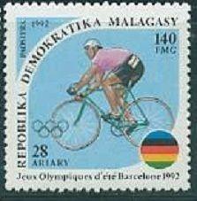 Мадагаскар - 1992.  - Летние Олимпийские игры. Барселона 1992 -