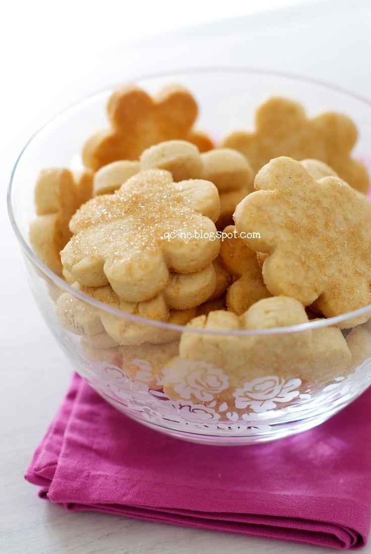 Q.C.ne: Frollini con farina di riso Rice flour cookies