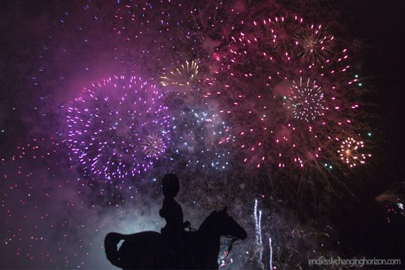 Edinburgh Fireworks Concert Wraps Up The Festival.  Click on the photo to see a video showcasing the highlights of the Virgin Money Fireworks Concert.   #Edinburgh #Scotland #travel