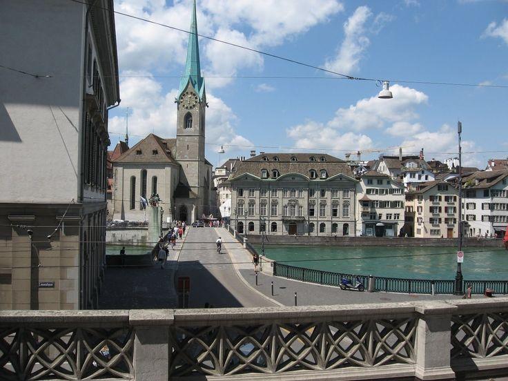 Путешествия по Европе Цюрих Швейцария  Touring Europe Zurich Switzerland