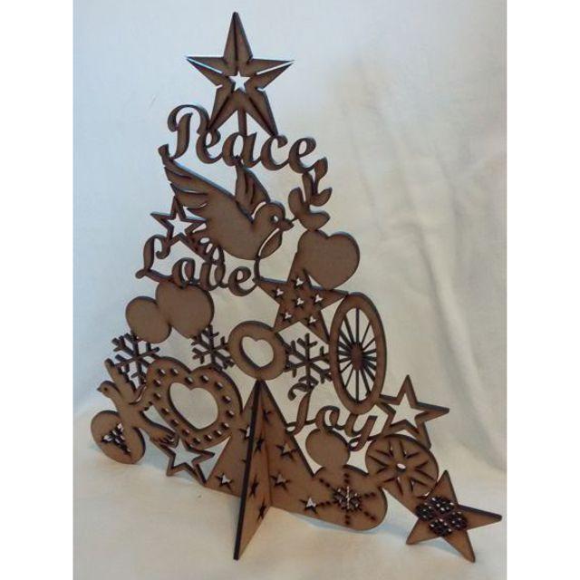 Christmas : Peace Christmas Tree