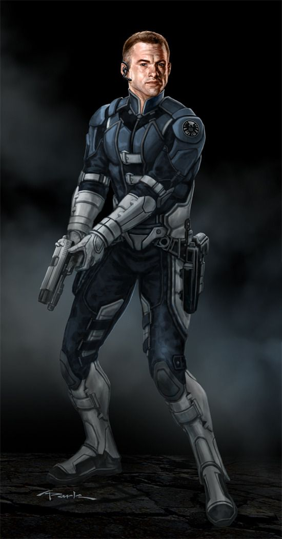 concept art by Andy Park for Marvel's The Avengers