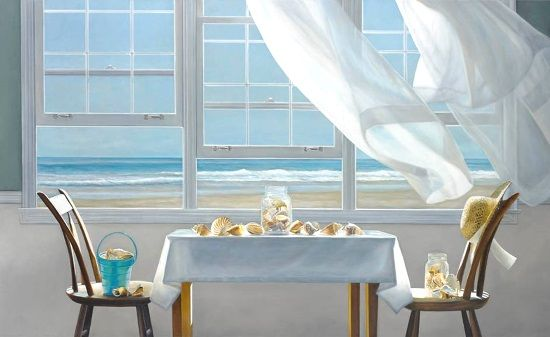 The Shell Collectors Painting