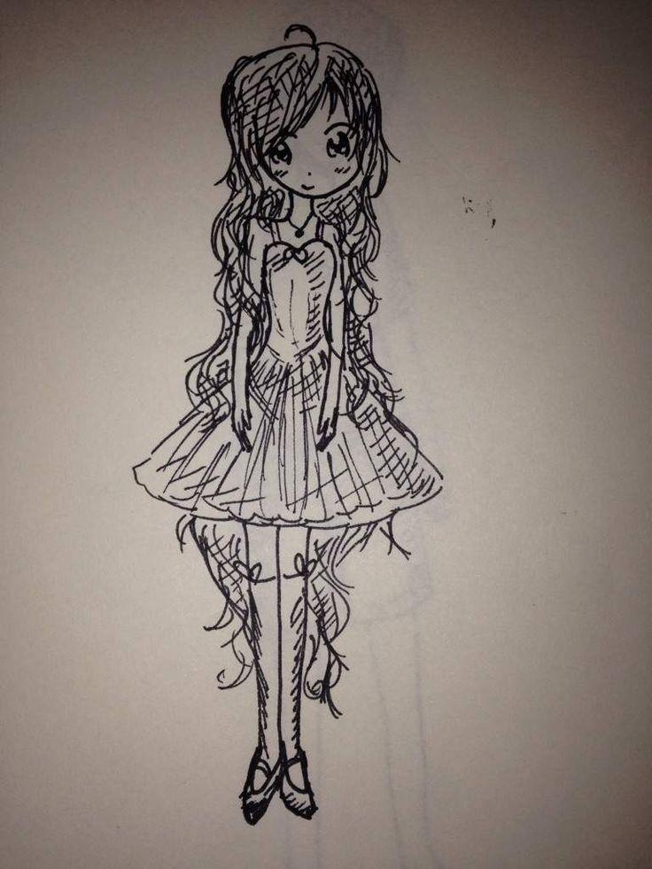 16 best anime images on pinterest anime girls anime for Random cute drawings