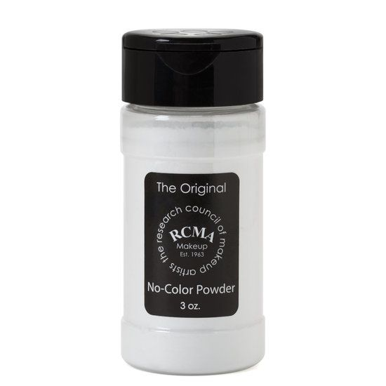 RCMA Makeup No Color Powder can be used for all powdering purposes. Because it has no filler or pigment, it will not alter the color of foundation bases. RCMA Powder will keep your foundations set and dry without caking